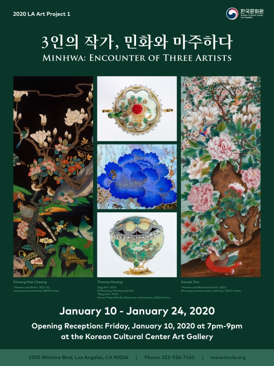 LA Art Project 1: Minhwa, Encounter of Three Artists