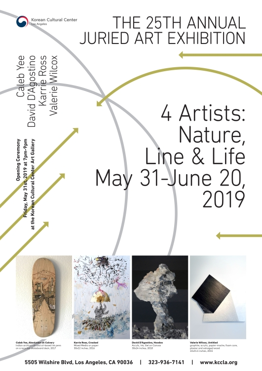 The 25th KCCLA Juried Contemporary Art Exhibition: Four Artists 'Nature, Line & Life'