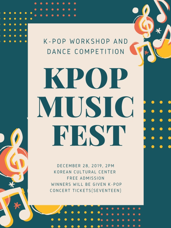 2019 K-Pop workshop