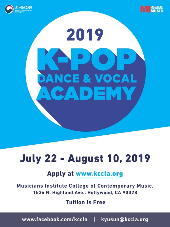 2019 K-Pop Academy showcase