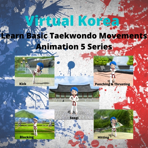 Learn Basic Taekwondo Movements Through Animation