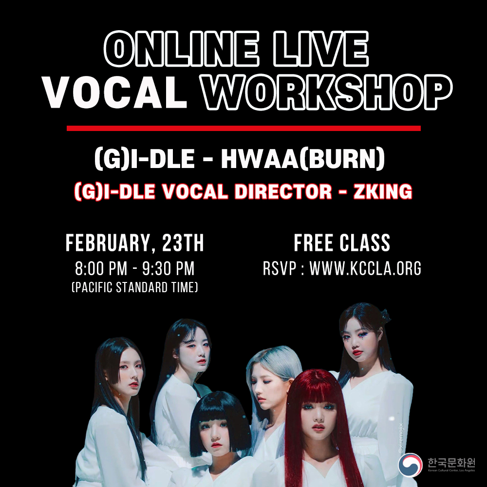 [(G)-IDLE- Hwaa (Burn) ] ONLINE LIVE Vocal WORKSHOP