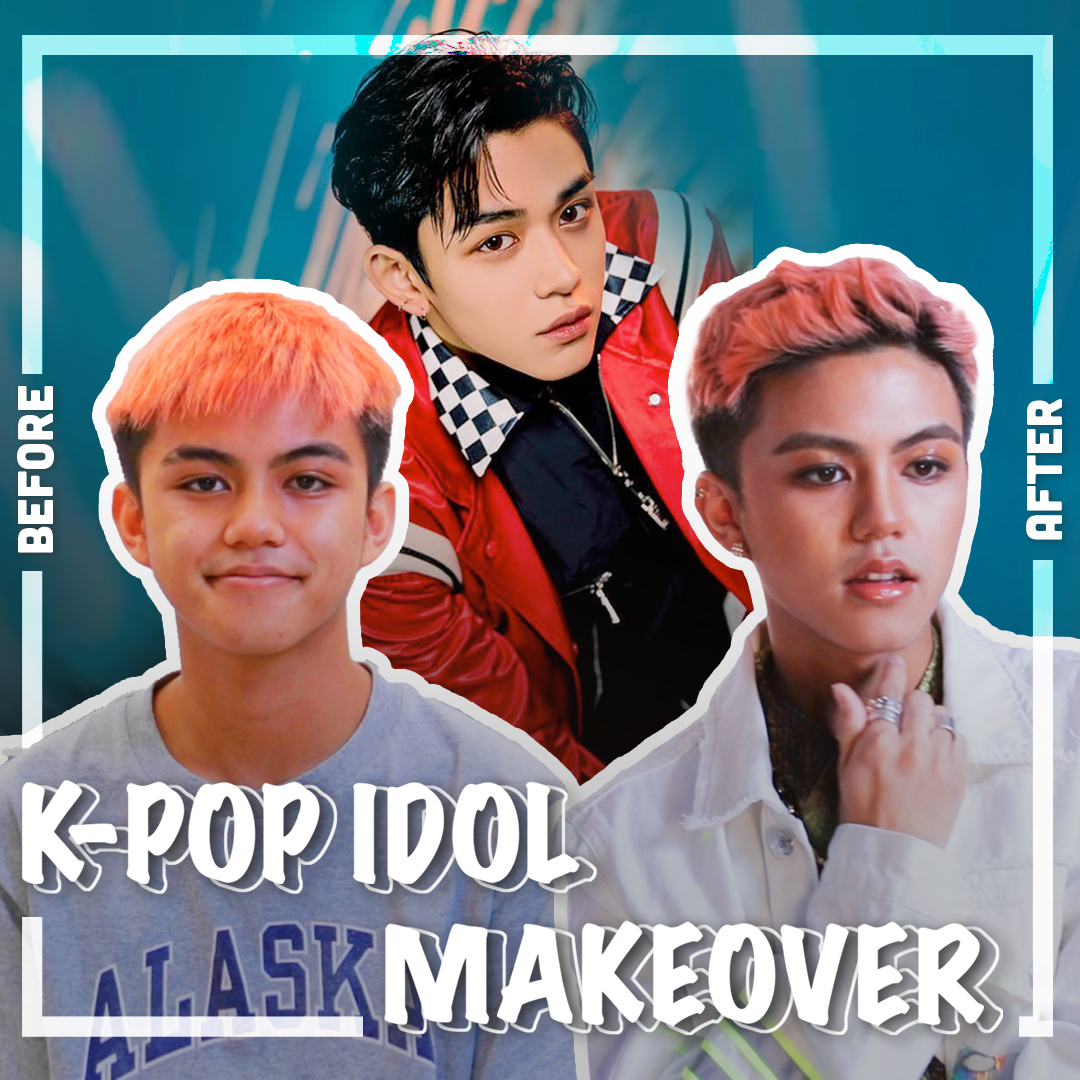 KPOP Idol Makeover Super M Lucas