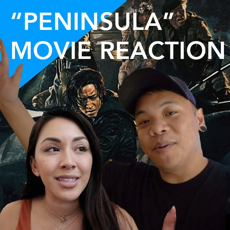 Peninsula Movie Reaction by AJ Rafael and Jessica Lesaca