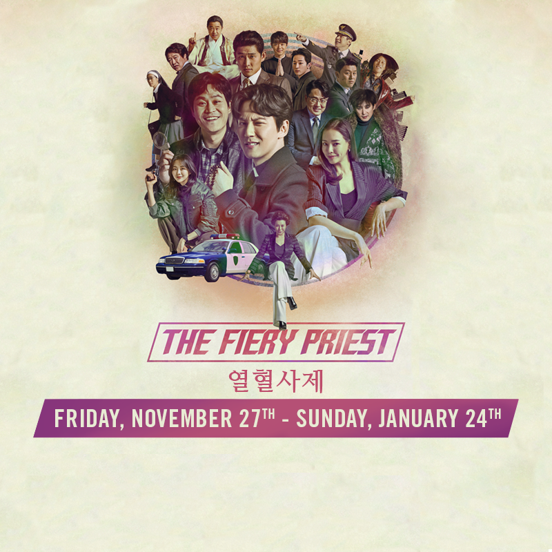 Virtual Korean Drama Night : The Fiery Priest