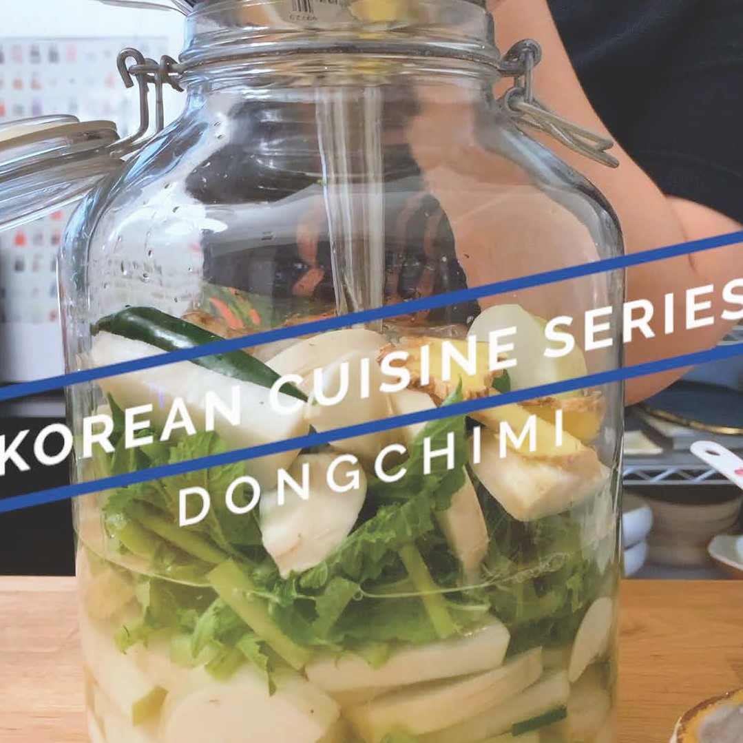 Korean cuisine series_Dongchimi